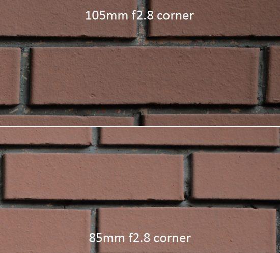 f/2.8 corner