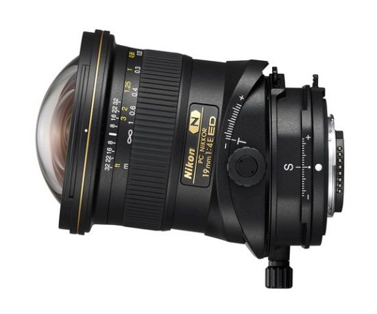 Pictures and specifications of the Nikon PC Nikkor 19mm f/4E ED and 70-200mm f/2.8E FL ED VR lenses leaked online