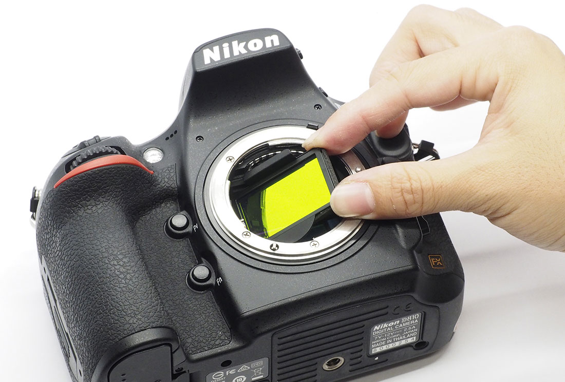 Light pollution clip-on filter for full frame Nikon DSLR cameras ...