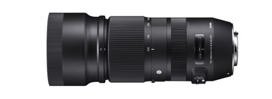 Sigma released firmware update for the 100-400mm f/5-6.3 DG OS HSM Contemporary lens for Nikon F-mount