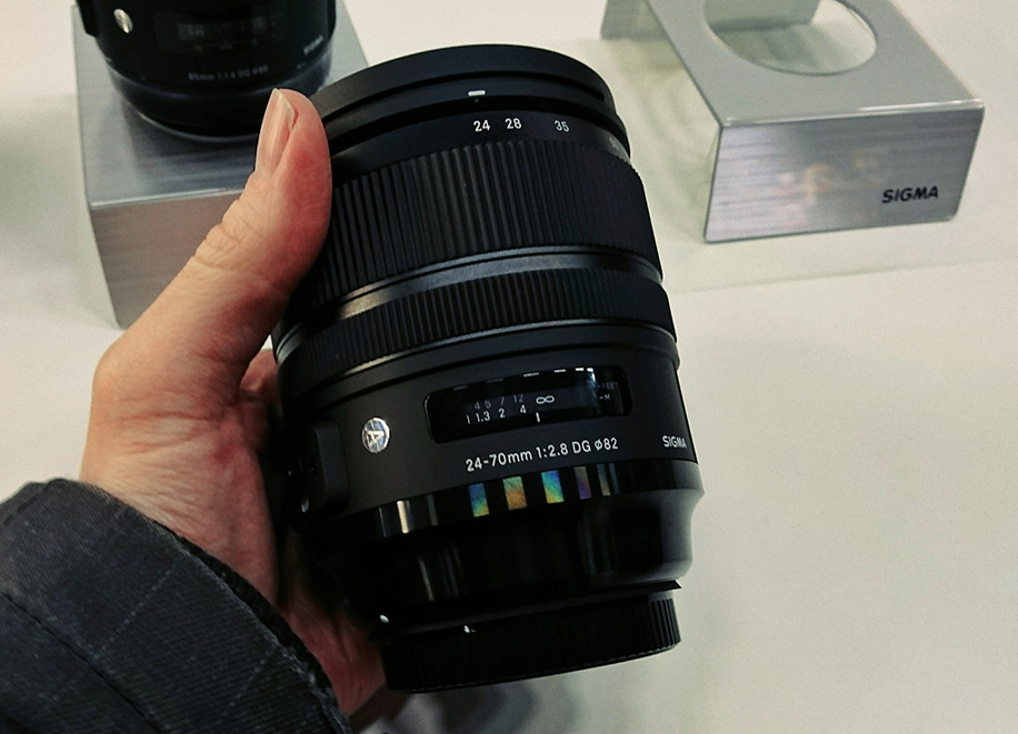 New firmware update for the Sigma 24-70mm f/2.8 DG OS HSM Art lens when used on Nikon Z6/Z7 cameras