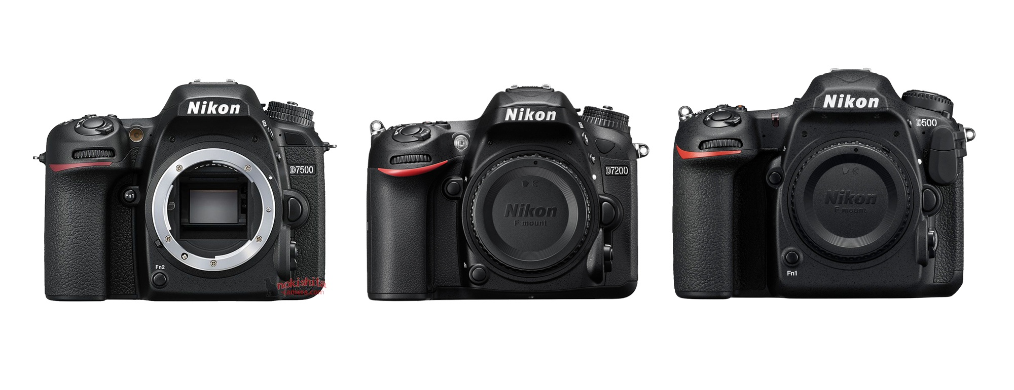 More Pictures Of The Nikon D7500 Dslr Camera Leaked Online