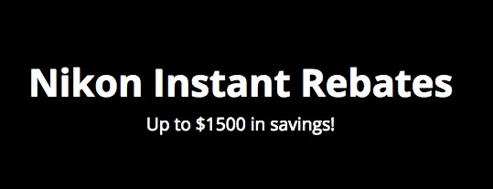New US rebates: Nikon D500, D750 and D810 now with a free battery grip again