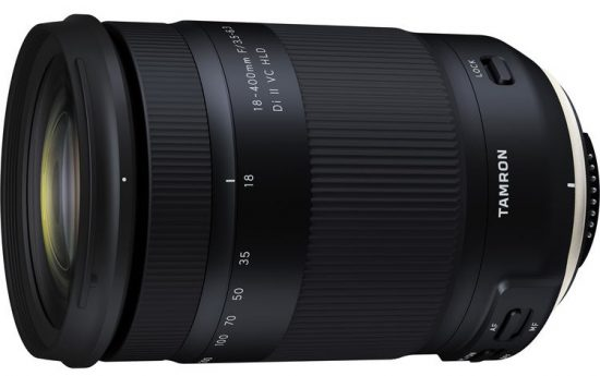 Tamron 18-400mm f/3.5-6.3 Di II VC HLD lens announced