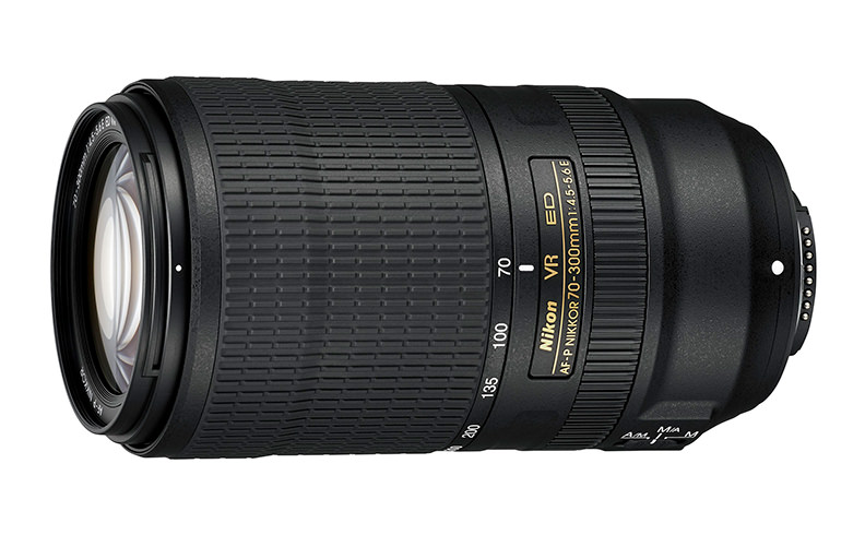 Nikon AF P Nikkor 70 300mm F 45 56 ED VR Lens Officially