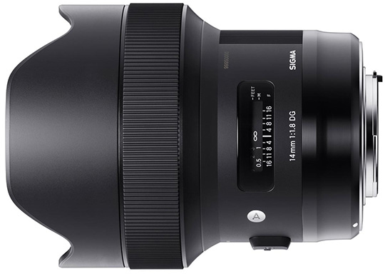 Today only: Sigma 14mm f/1.8 DG HSM Art lens is $400 off