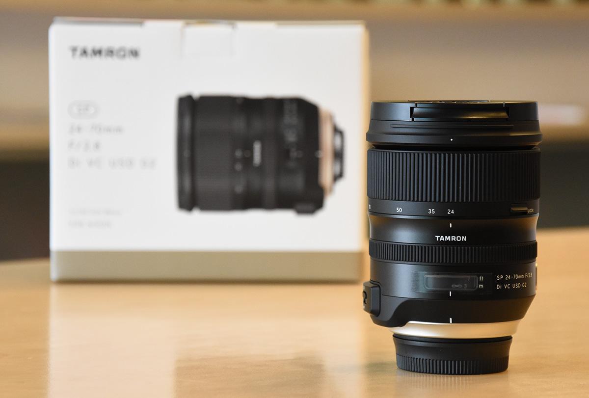 tamron sp 24 70mm f 2 8 di vc usd g2 lens for nikon f mount now in stock nikon rumors. Black Bedroom Furniture Sets. Home Design Ideas