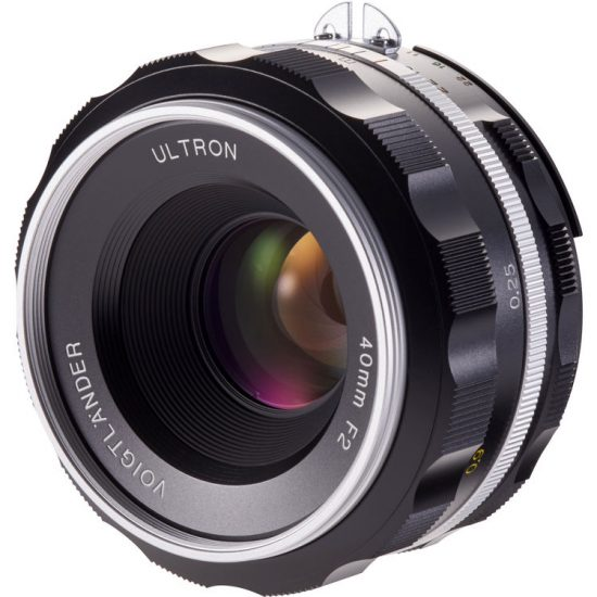 Deal of the day: Voigtlander Ultron 40mm f/2 SL IIS Aspherical lens for Nikon F-mount is now $70 off