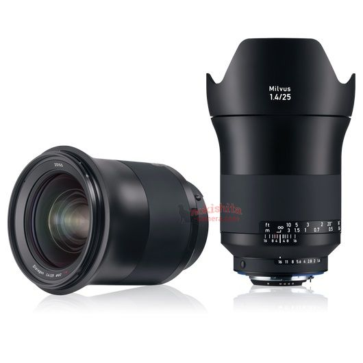 Zeiss to announce a new Milvus 1.4/25 ZF.2 lens