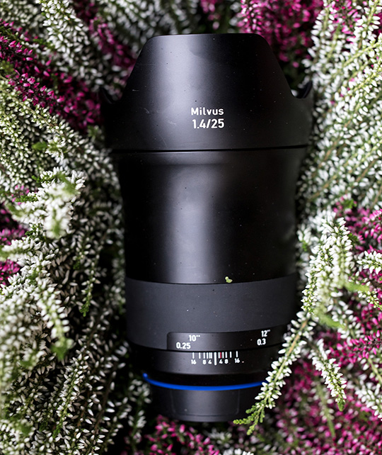 Zeiss Milvus 25mm f/1 4 (1 4/25) full frame DSLR lens for