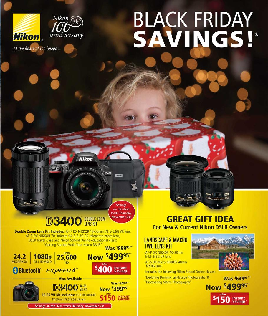 nikon 2017 black friday deals leaked nikon rumors. Black Bedroom Furniture Sets. Home Design Ideas