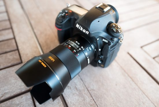 Nikon D850 camera with Kerlee 35mm F/1.2 lens