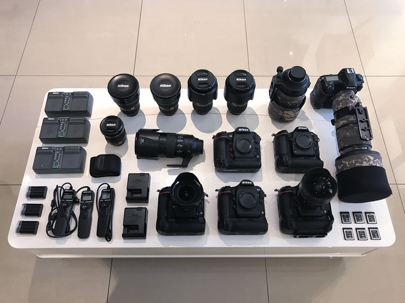 The making of the official Nikon D850 time-lapse 'Hercules