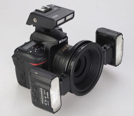 Meike MK-MT24 macro ring flash kit and MK-GT620 flash trigger
