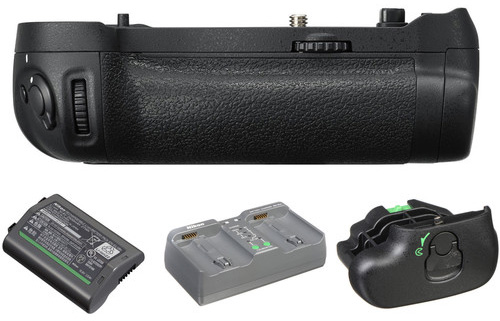Third-party battery grip options for the Nikon D850 camera
