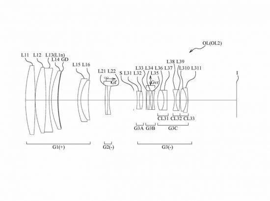 Nikon 500mm f/5.6 lens patent
