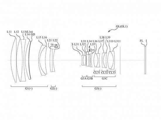 Nikon 400mm f:5.6 lens patent