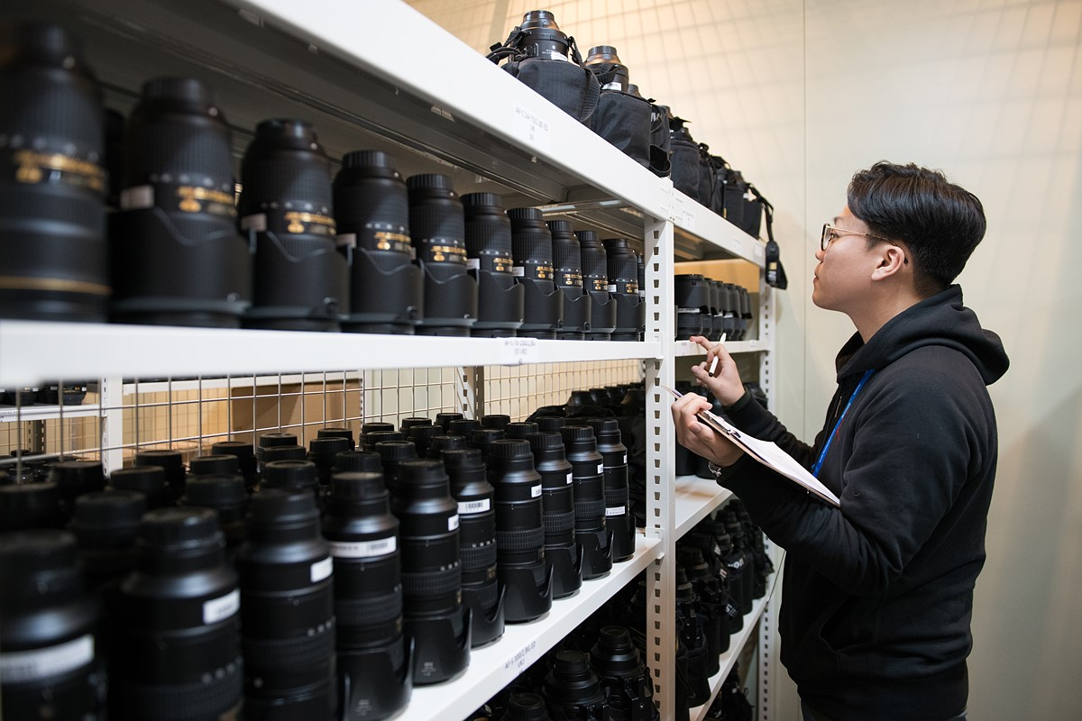 This is what heaven looks like: Nikon Professional Services at the