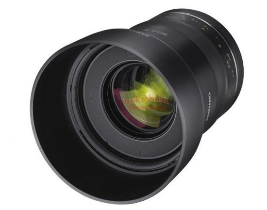 New Samyang XP 50mm f/1.2 lens leaked online