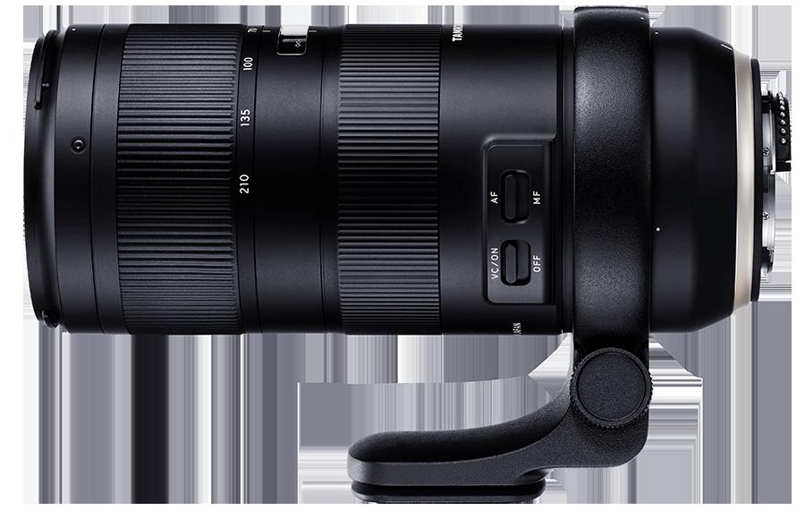 Tamron 70-210mm f/4 Di VC USD full frame lens for DSLR cameras ...