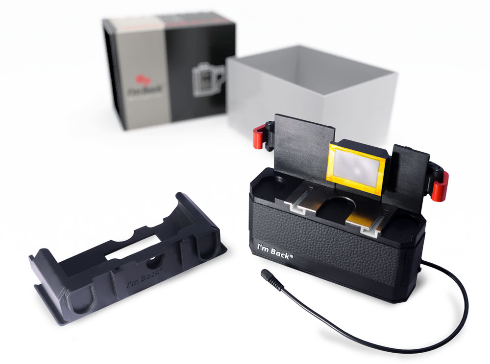 The Im Back Digital Back For Nikon 35mm Film Cameras Is Back On