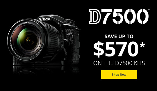 New US price drop on the Nikon D7500 camera - Nikon Rumors