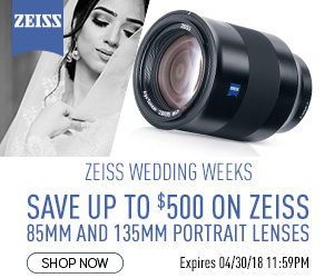 New deals from Zeiss, Topaz Labs, KEH and Blurb