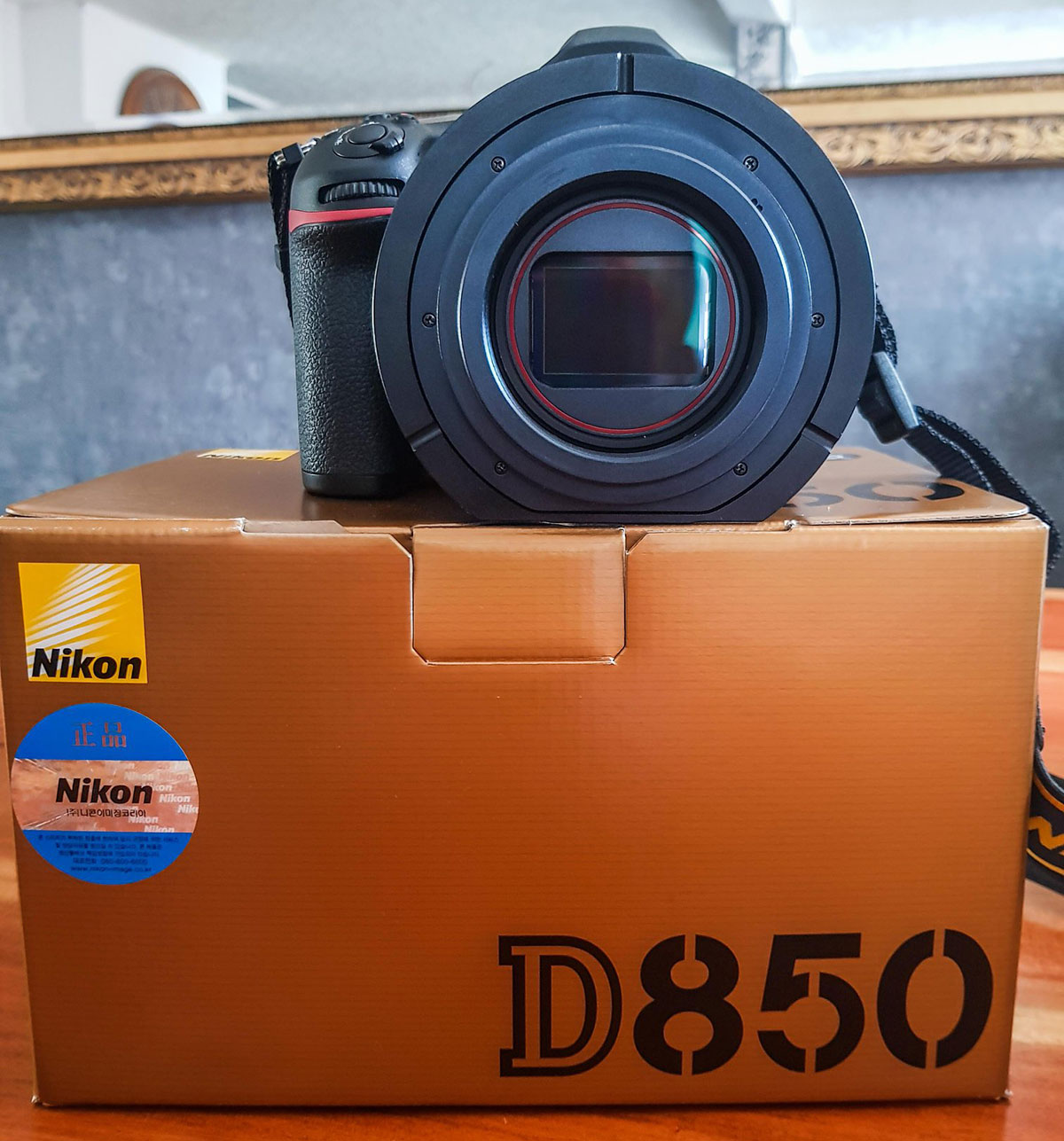 New: Nikon D850 cooled camera for astrophotography - Nikon