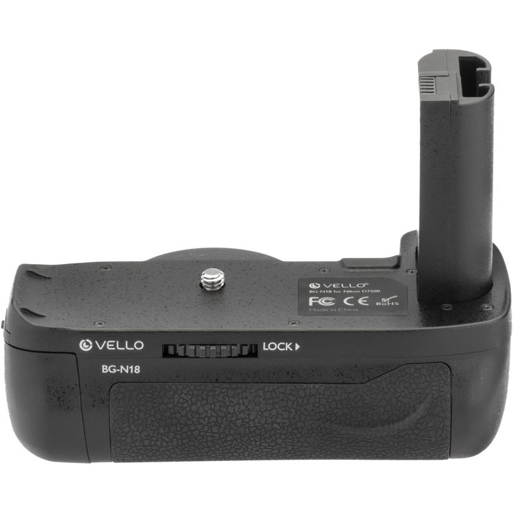Third party battery grips for the Nikon D7500 DSLR camera