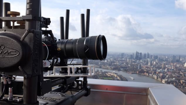The first 24 hours gigapixel time-lapse panorama of the London skyline shot with the Nikon D850
