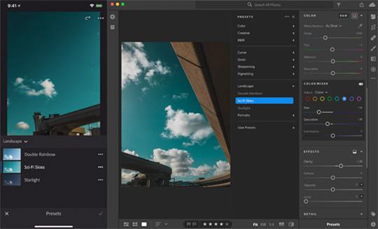 Several new photo editing software updates (Adobe Camera Raw 10 4
