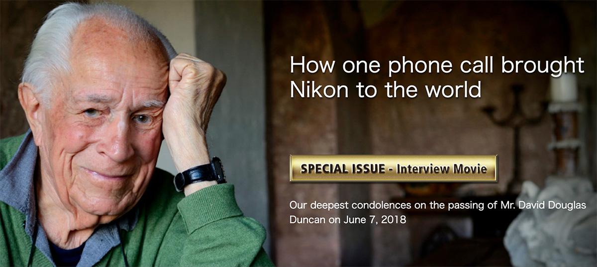 In memoriam David Douglas Duncan - Nikon Rumors