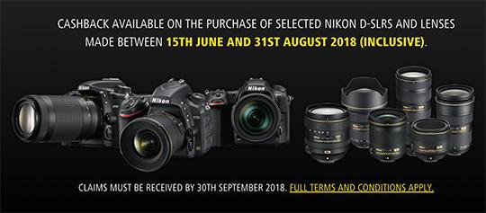 Nikon cash back реклама мегафон про кэшбэк
