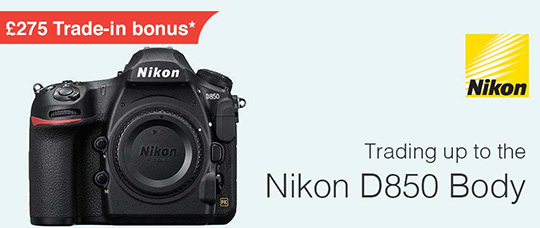 New Nikon D850 trade-in bonus offer in the UK - Nikon Rumors