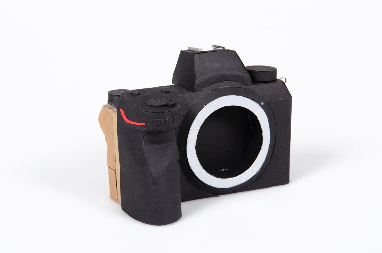 Nikon Mirrorless Camera Paper Mockup Nikon Rumors