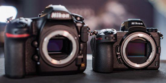 https://nikonrumors.com/wp-content/uploads/2018/08/Nikon-D850-vs-Nikon-Z7-550x277.jpg