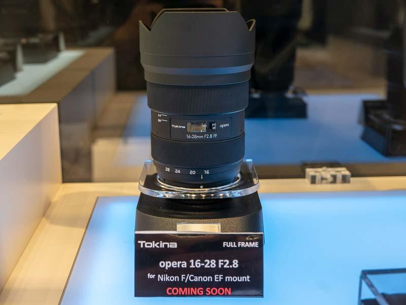 New Tokina Opera 16-28mm f/2.8 FF full-frame DSLR lens to be announced on February 22nd
