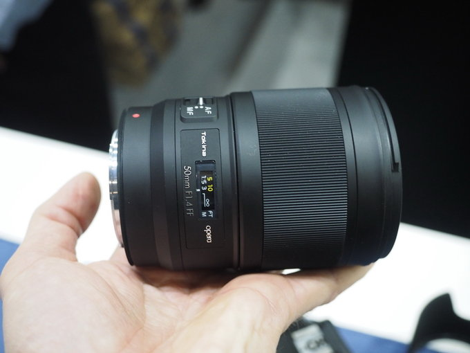 Tokina Opera 50mm f/1.4 FF lens for Nikon F-mount now in stock