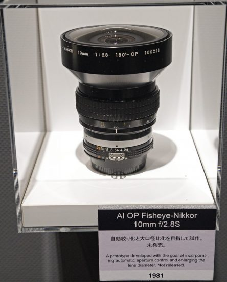 Nikon 10mm Fisheye lens