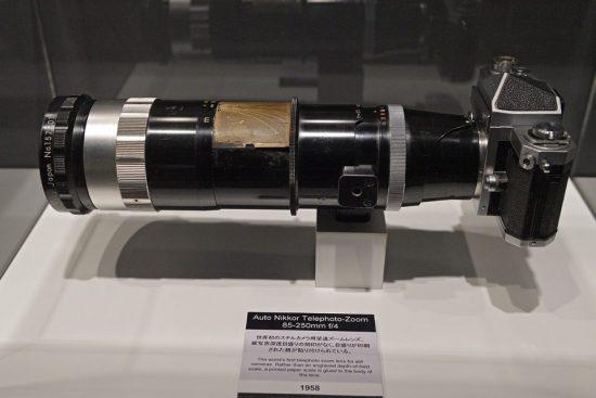 Nikon 85-250mm f/4 lens