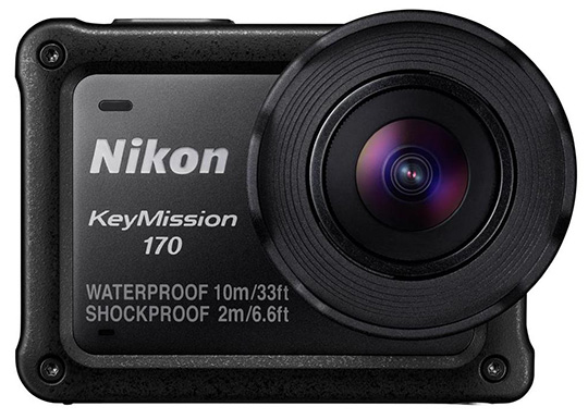 The Nikon KeyMission 170 camera fire sale has started