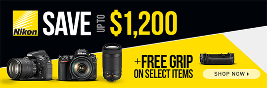 The free Nikon battery grip offer ends tonight