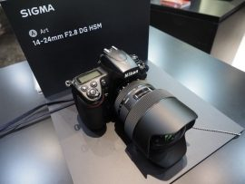 Sigma 14-24mm f/2.8 DG HSM Art Lens for Nikon F-mount