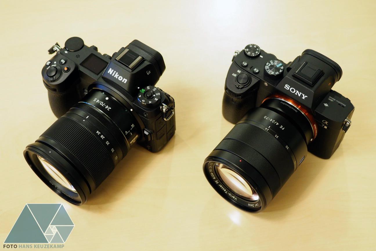 Sony A7 Nikon Z7 And Canon Eos R Full Frame Mirrorless