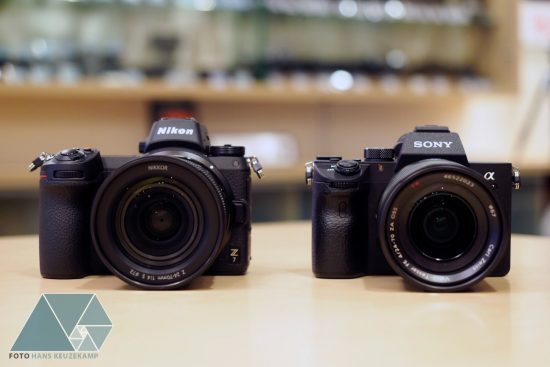 Sony Full Frame Lenses >> Sony A7, Nikon Z7 and Canon EOS R full-frame mirrorless cameras side by side - Nikon Rumors