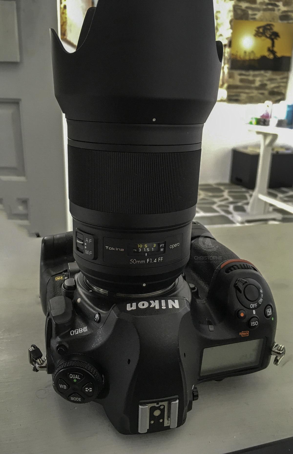 Tokina Opera 50mm f/1 4 FF full frame DSLR lens review