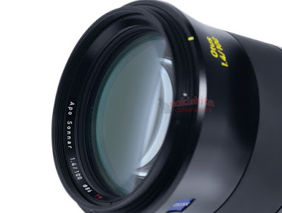 first pictures of the upcoming zeiss otus 100mm f/1.4 lens