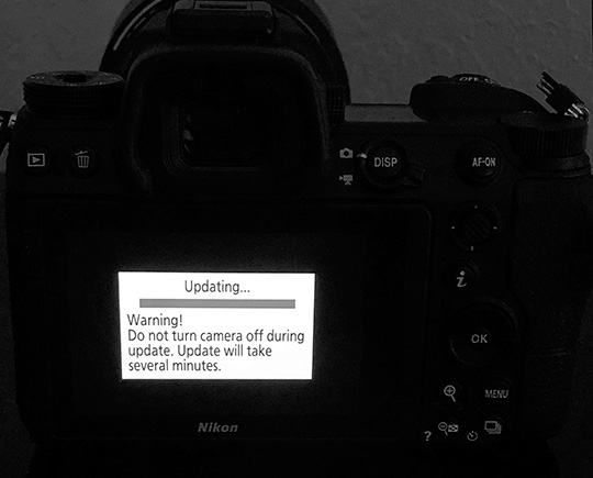 Nikon released new firmware updates for the D600, D610 and D750 cameras