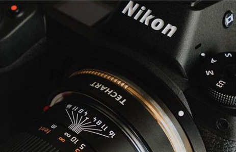 This is the upcoming Techart autofocus lens adapter for Nikon Z-mount