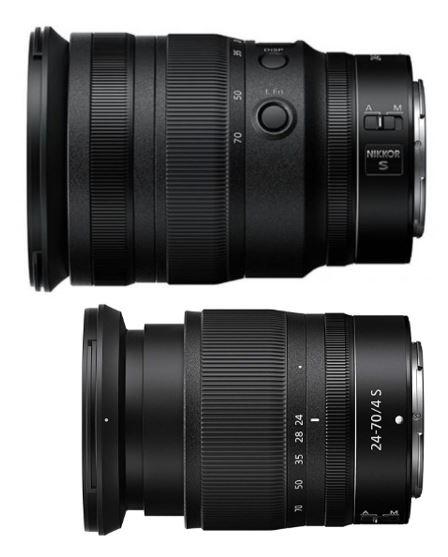 Sony Full Frame Lenses >> Nikon Nikkor Z 24-70mm f/2.8 S mirrorless lens size comparisons - Nikon Rumors
